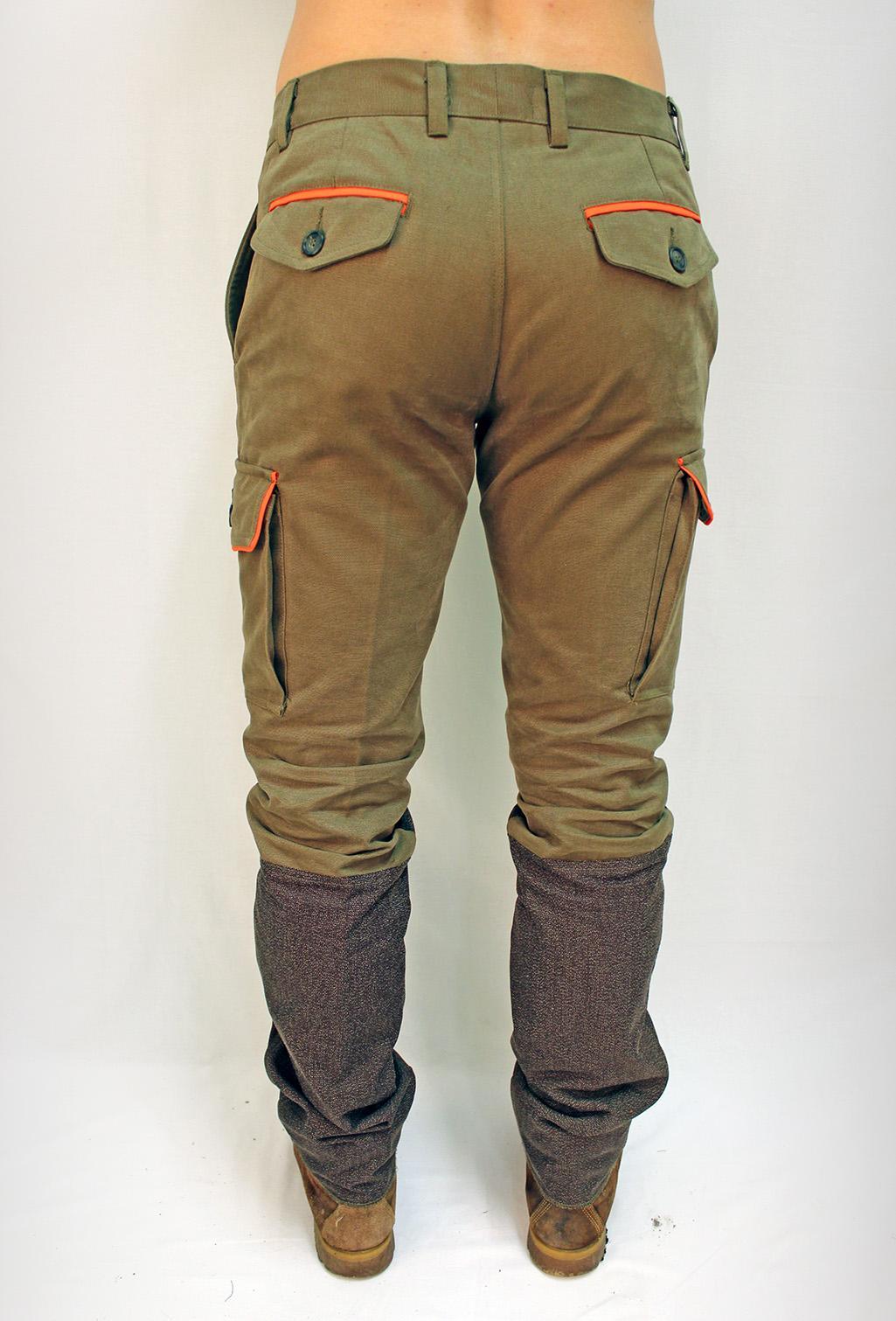 Abbigliamento tecnico - pantalone kevlar - dietro