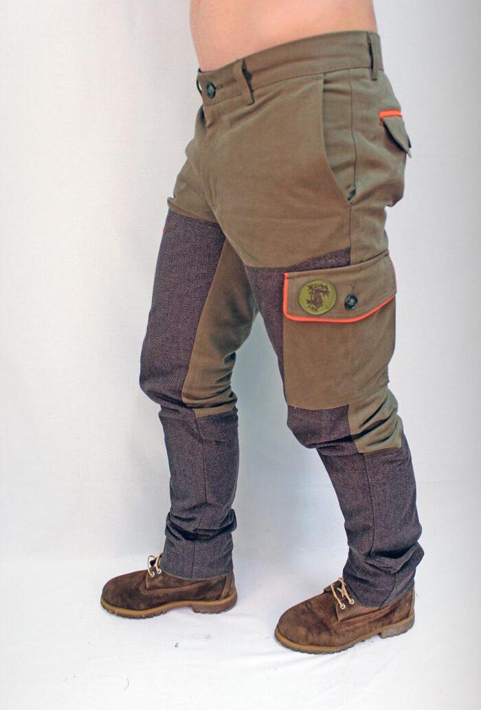 Abbigliamento tecnico - pantalone kevlar - laterale